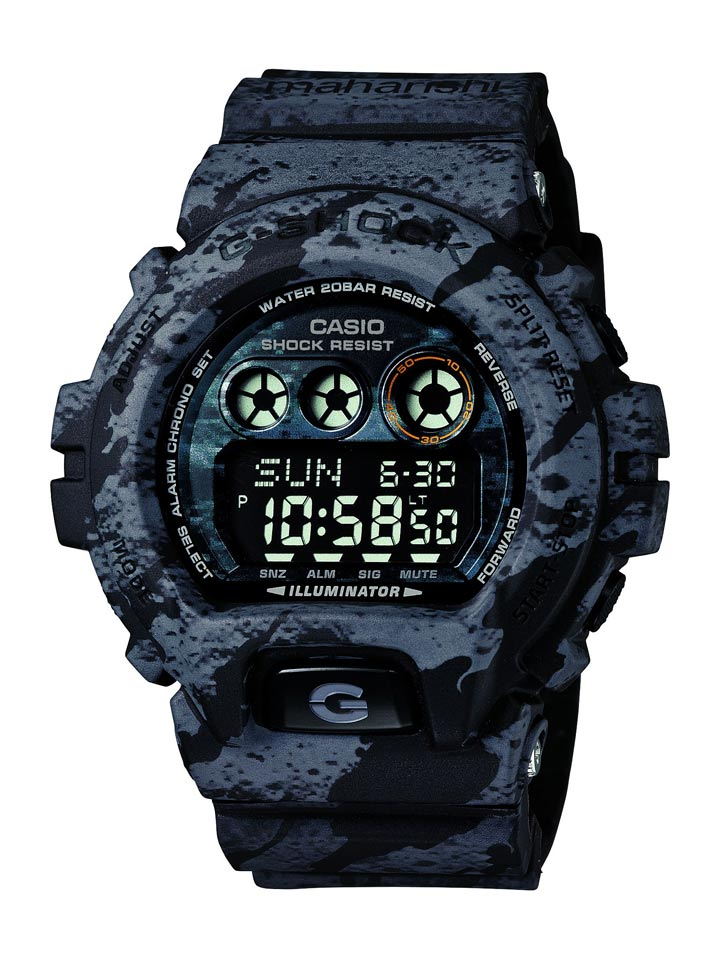 Maharishi dresses Casio G-Shock in Bonsai-inspired print