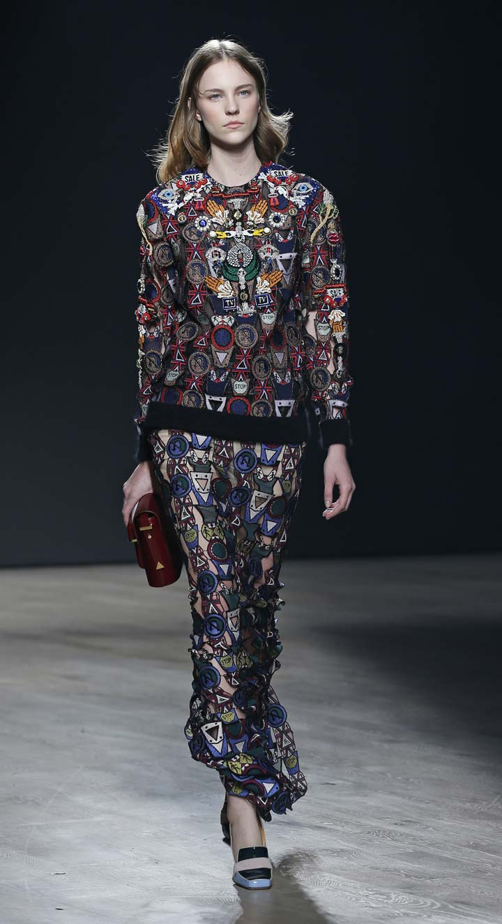 Adidas Originals teams up with Mary Katrantzou for Fall-Winter 2014