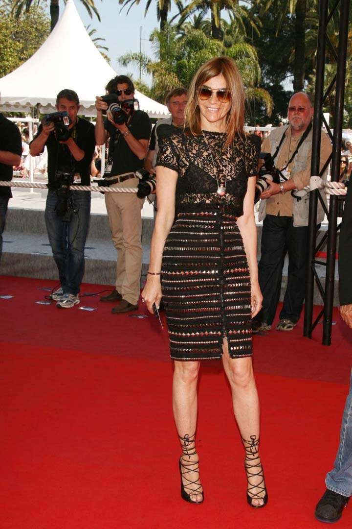 Cannes: Carine Roitfeld organizes 'Cinema Against AIDS' fashion show
