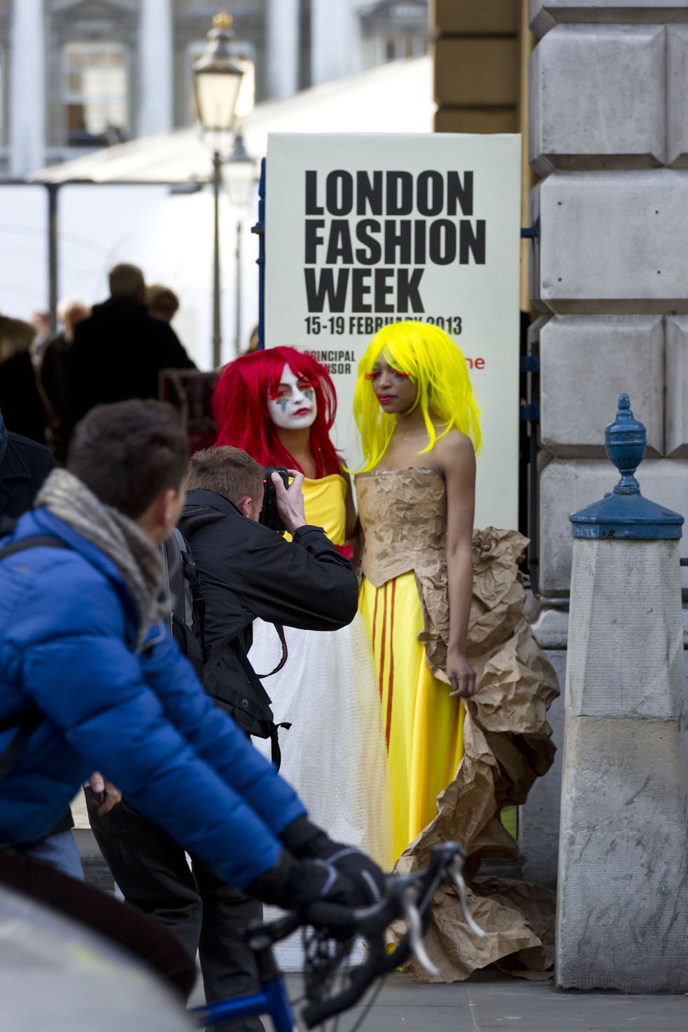 Unions to make workers' rights fashionable at LFW