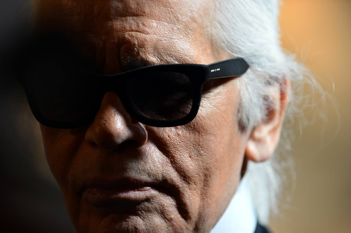 Karl Lagerfeld opens London store