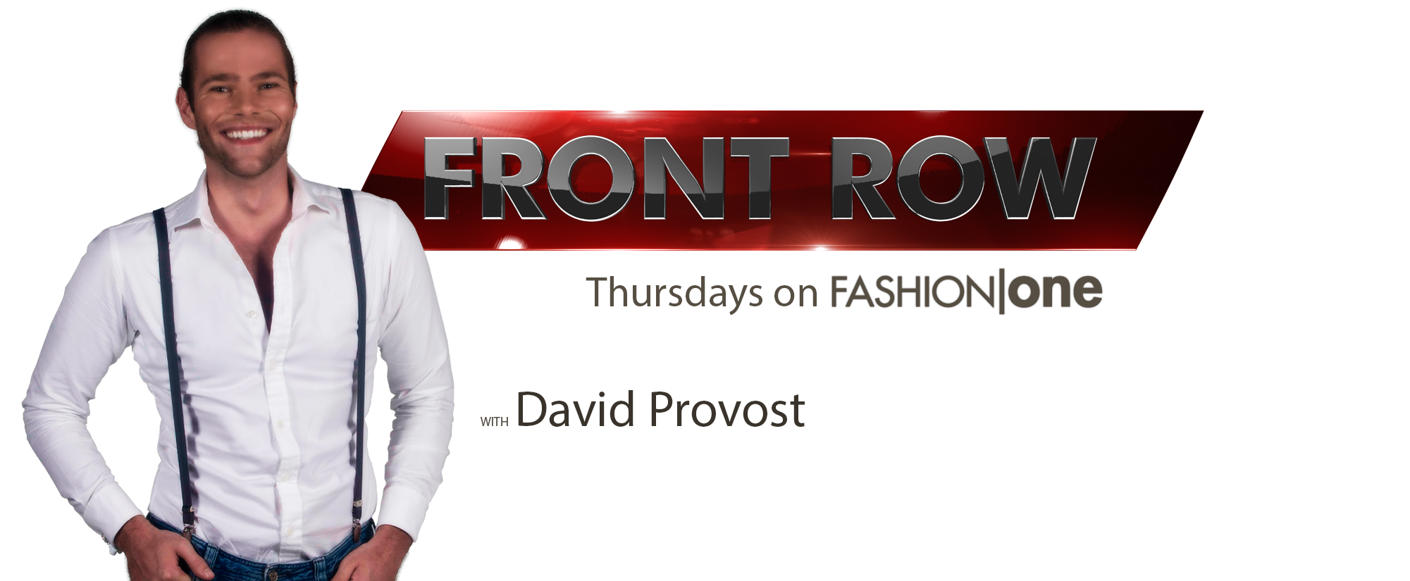 Up Close and Personal with David Provost of Fashion One's Front Row