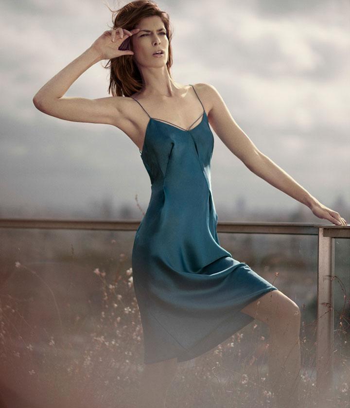 Kristina Salinovic for Harper's BAZAAR by Benjamin Kanarek