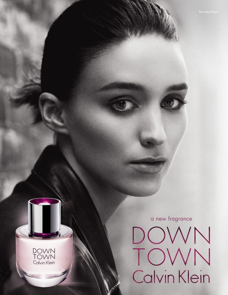 Rooney Mara for Calvin Klein's Downtown