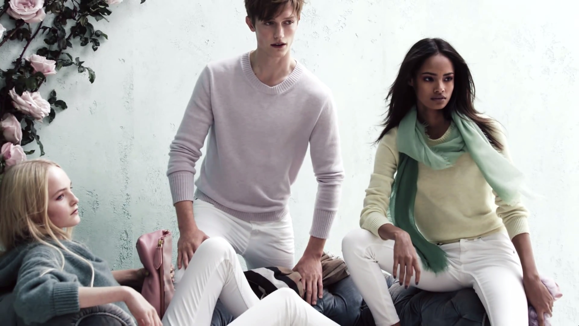 Spring Pastels - The Burberry Brit Spring/Summer 2014 Campaign