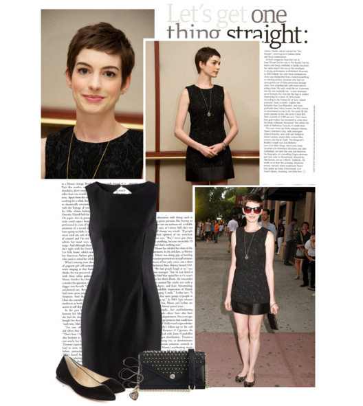 Get the look: Anne Hathaway