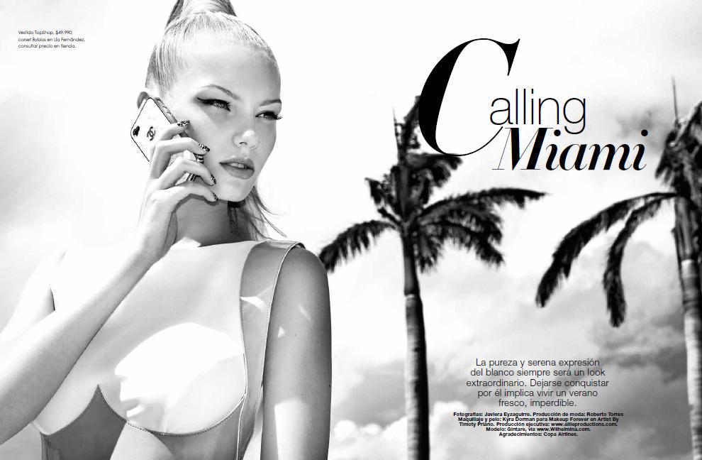 Vanidades Chile magazine-Calling Miami
