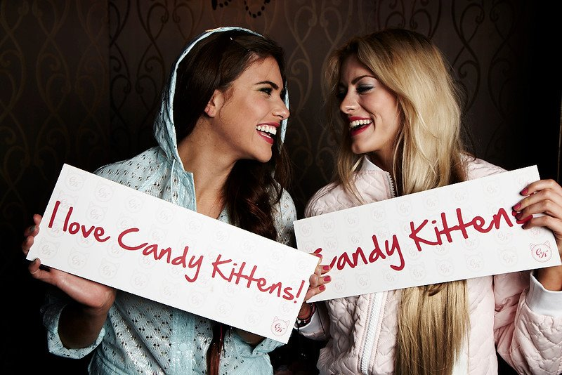 Fashion Frontline's Candy Kitten Host