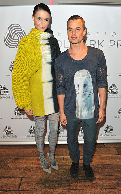Chris Wijnants wins Woolmark prize 2013