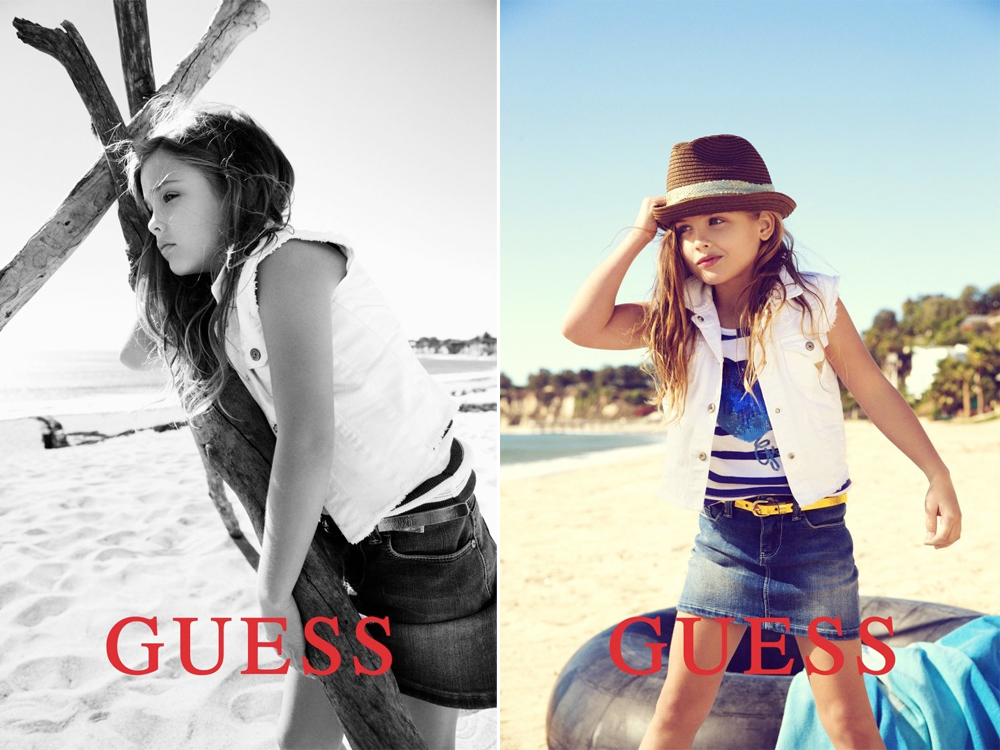 Anna Nicole Smith's daughter is new face of Guess Kids Presented by Fashion One