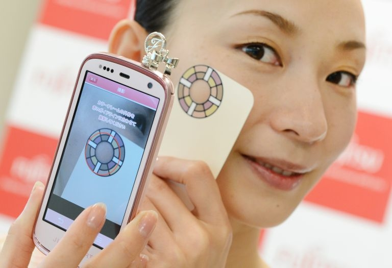 Japan mobile phone will monitor skin condition Brought to you by Fashion One
