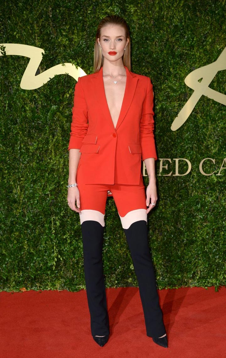 Looks of the day: Gwyneth Paltrow, Alexa Chung, Rosie Huntington-Whiteley