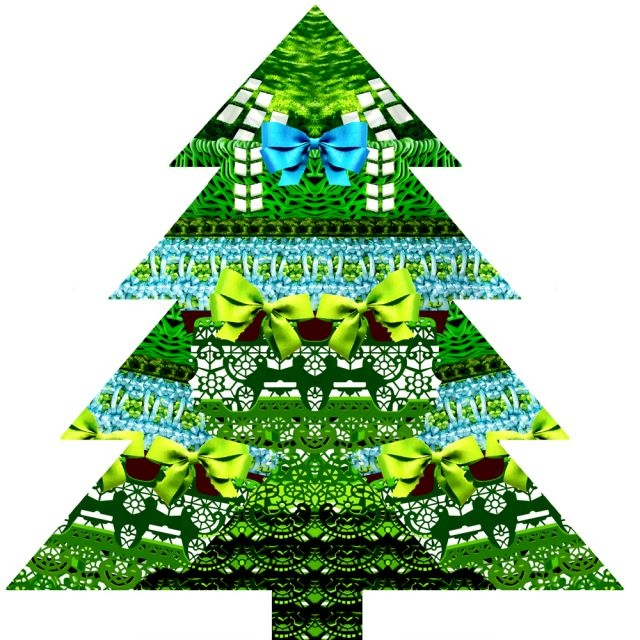 Mary Katrantzou designs Christmas Tree for London Design Museum
