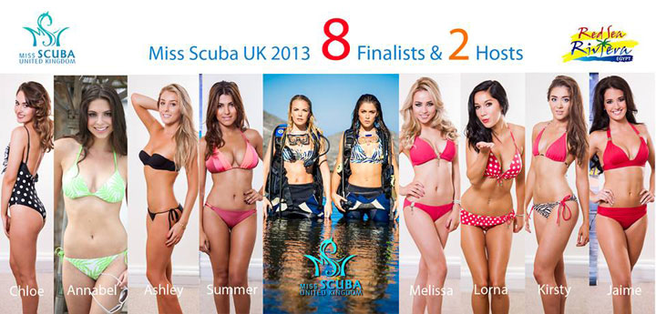 Miss Scuba UK Hits The Hippodrome