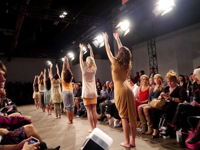 NICOLE BRIDGER PRESENTS 'BE' AT ECO FASHION WEEK