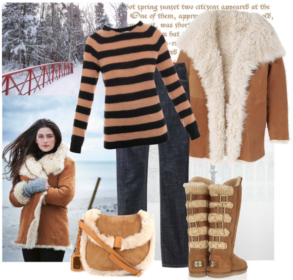 Fashion One brings you Top trend: Shearling coat