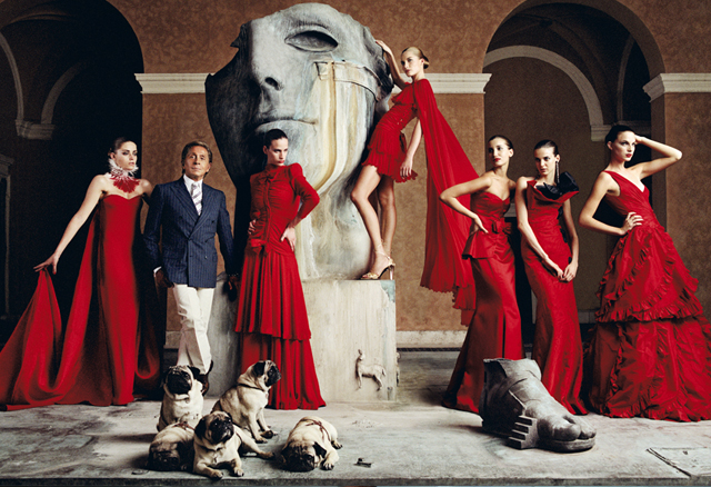 'Valentino: Master of Couture' opens in London Presented by Fashion One