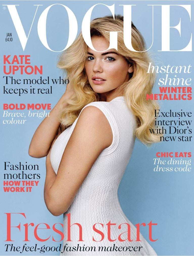 Kate Upton on the rise as fashion looks to 'healthier' models