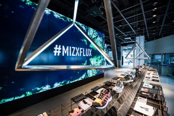 Adidas #mizxflux app takes sneaker customization to new heights