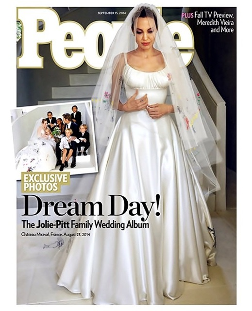 Angelina Jolie's Wedding Dress Revealed!