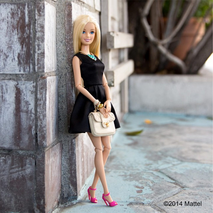 Mattel's Barbie Turns Instagram Fashionista