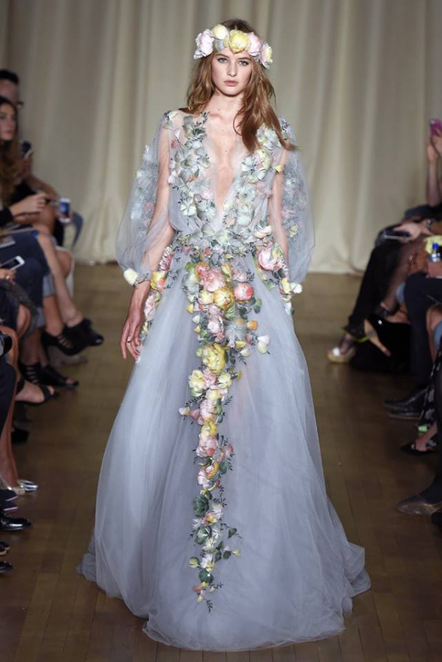 Woodstock Atmosphere With Marchesa at London Fashion Week