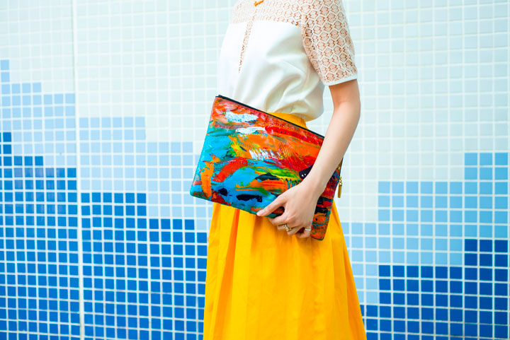 Carmen Chan to Debut Art Clutch