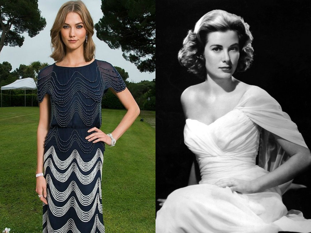 Karlie Kloss, Grace Kelly