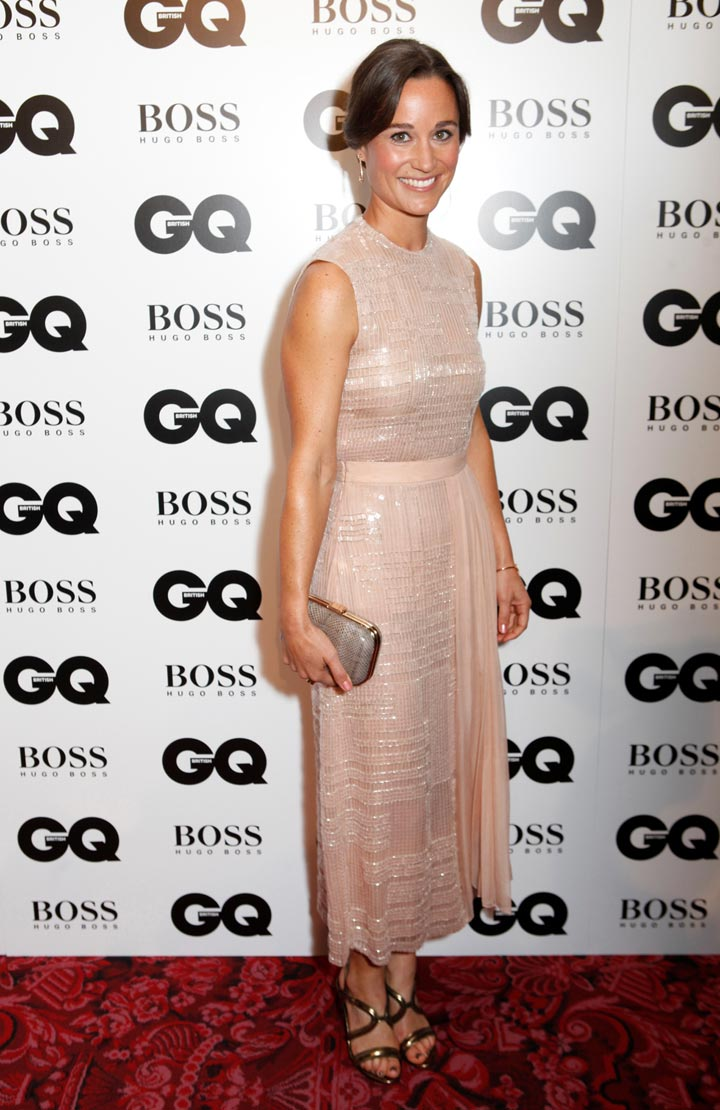 Pippa Middleton Wears Hugo Boss at GQ Men of the Year Awards 2014