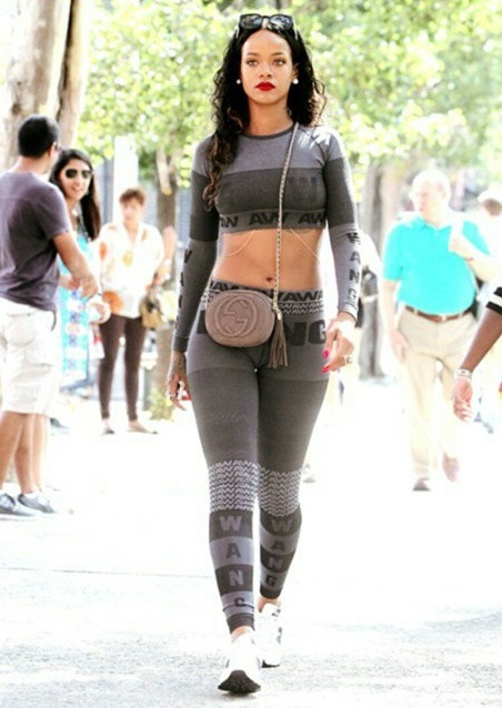 Rihanna Just Debuted Alexander Wang X H&M!