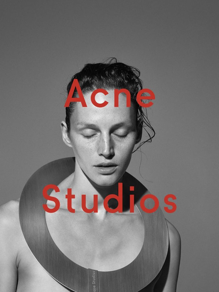 Viviane Sassen's latest for Acne Studios a black and white affair
