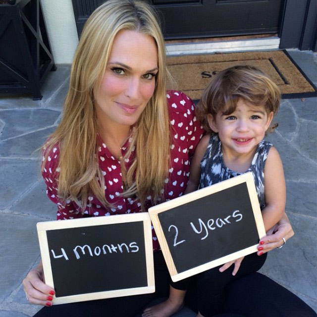 Molly Sims Expects Her Second Child