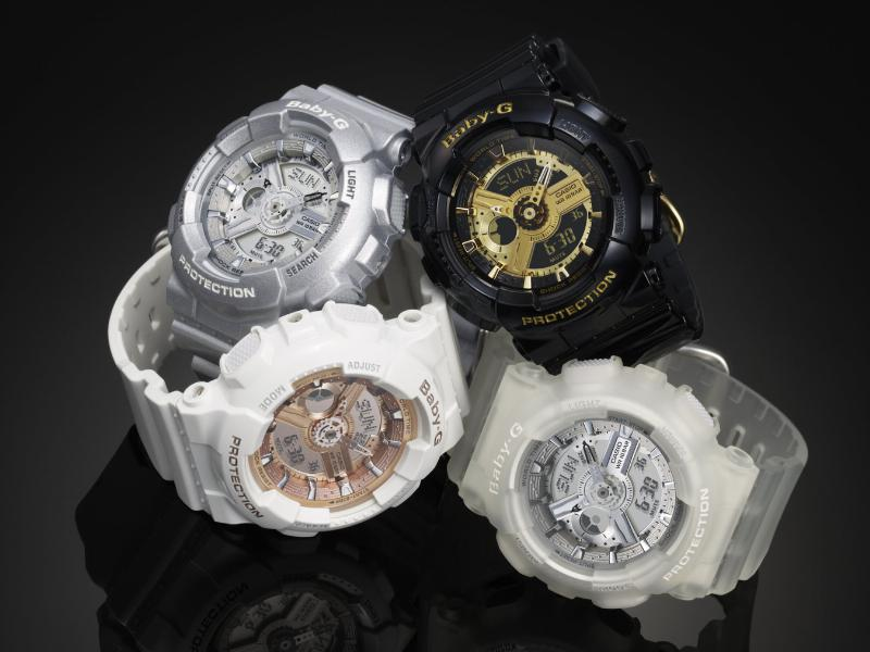 Baby-G Steps Up Style With Holiday Timepieces
