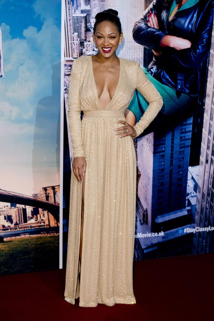 Looks of the day: Meagan Good, Naya Rivera, Allison Williams