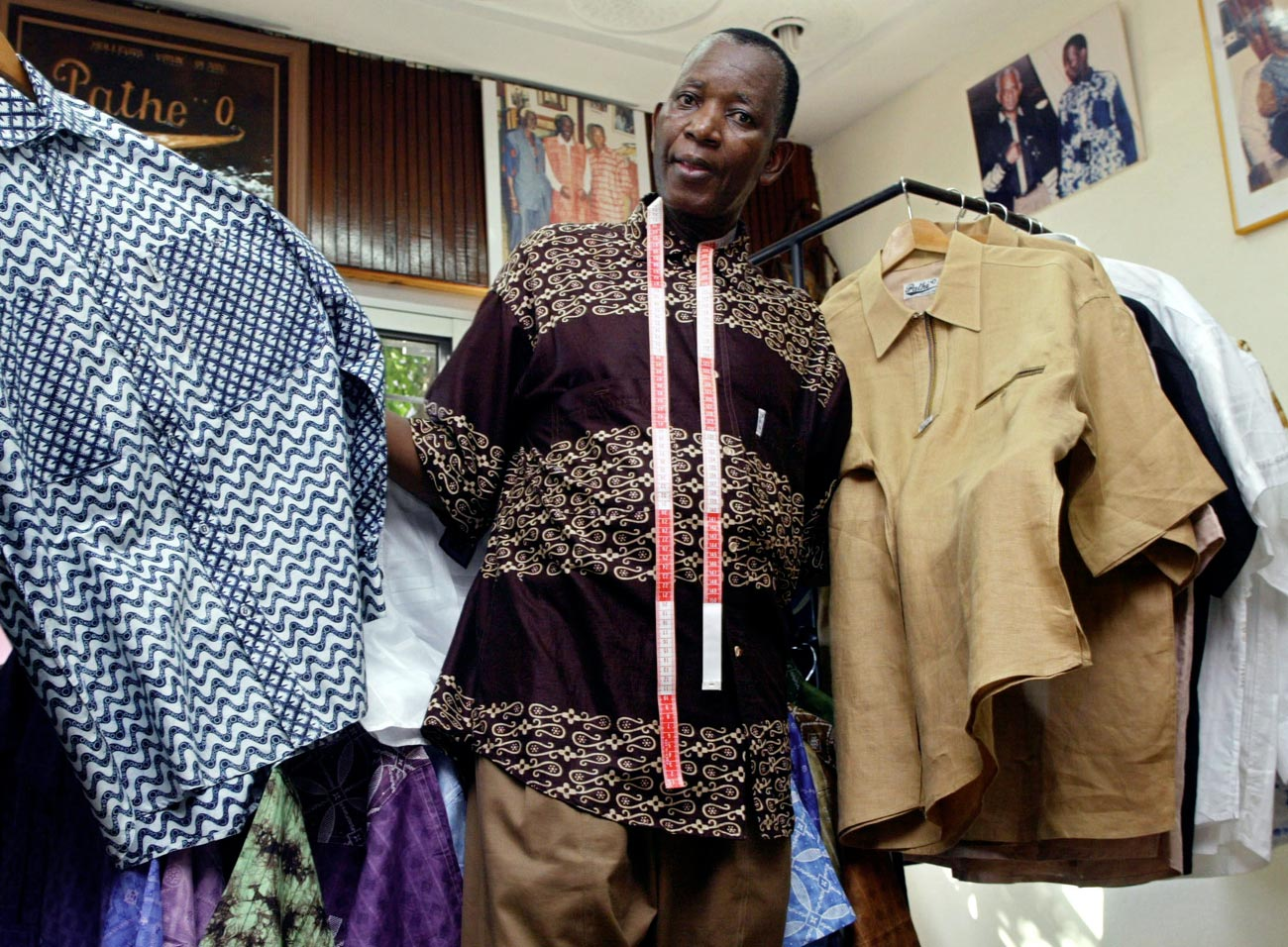 Mandela shirts showed he was true to himself: tailor