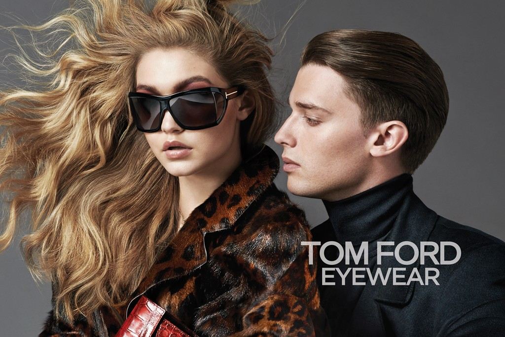 Wednesday Mess-age : Tom Ford ad campaign starring Gigi Hadid and Patrick Schwarzenegger